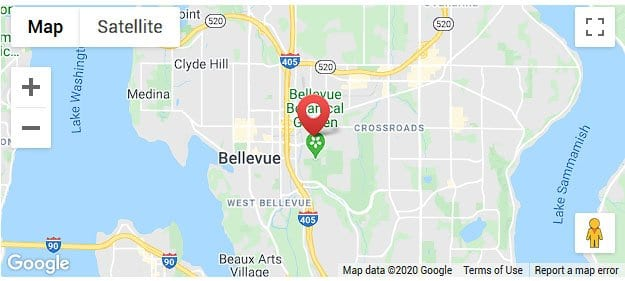 Map of Vida Bellevue Location